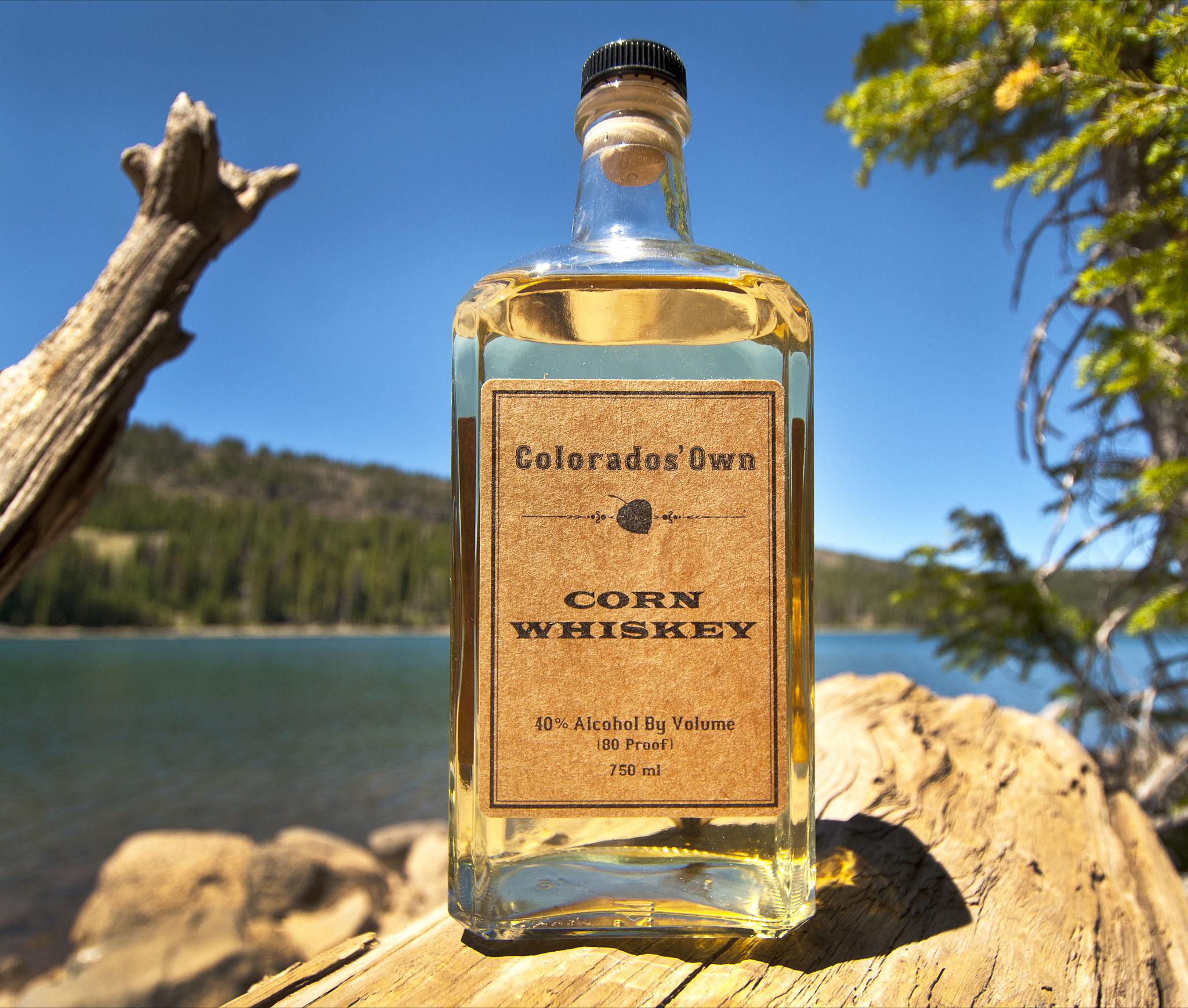Colorado's Own Corn Whiskey