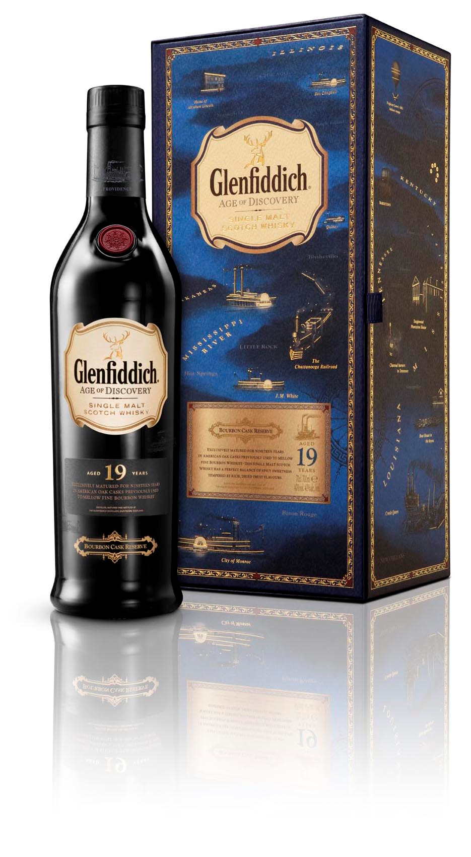 Glenfiddich Age of Discovery Bourbon Cask 19 Years Old