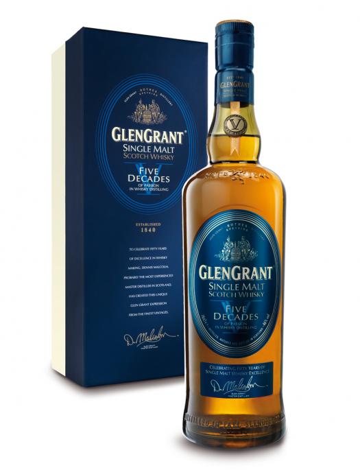 glen grant 5 decades