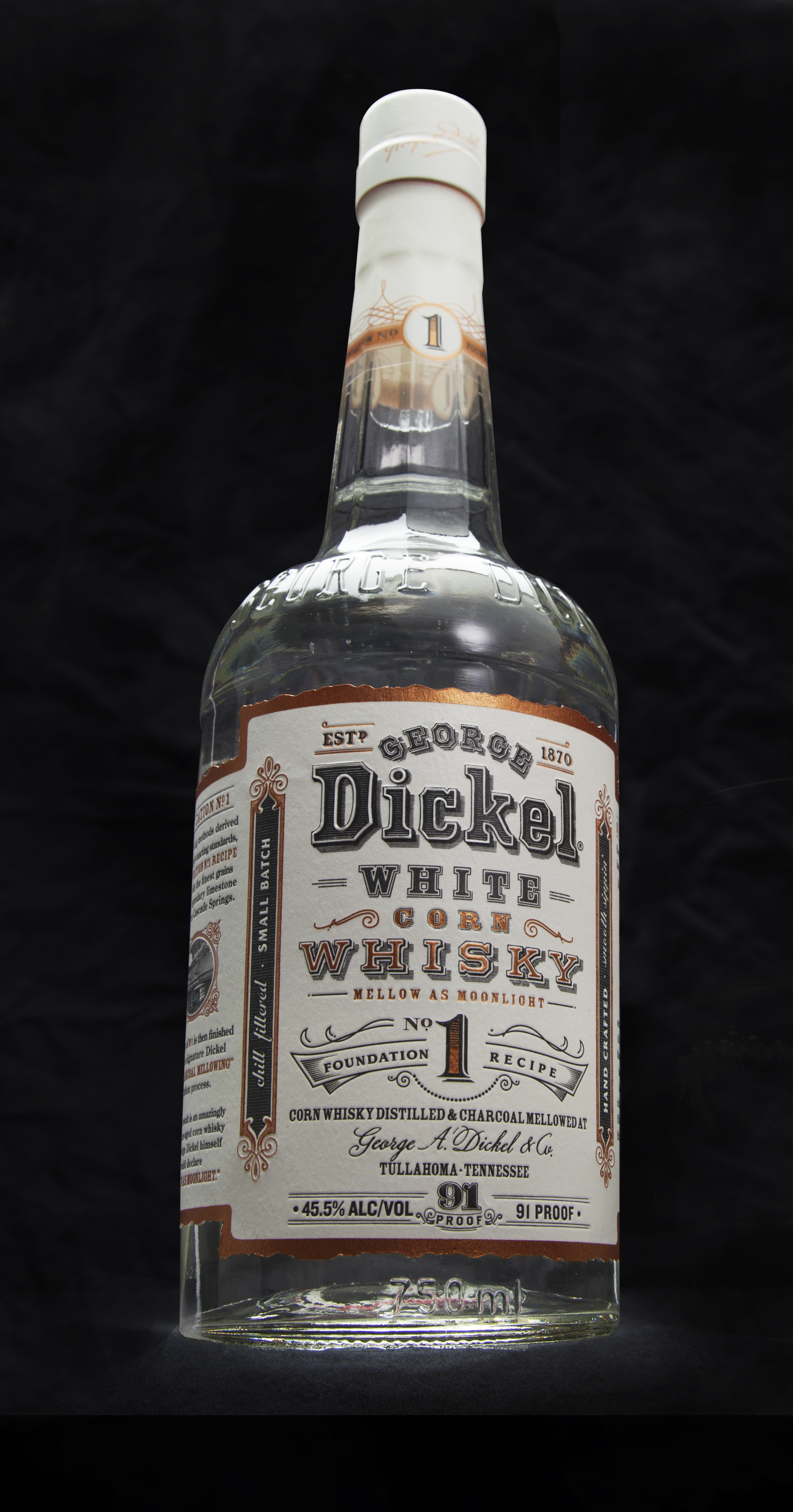 Review: George Dickel White Whisky Foundation No. 1 ...