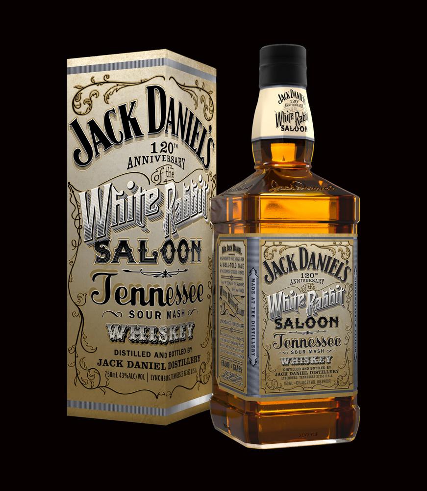 Review jack daniel s white rabbit saloon whiskey drinkhacker for Photos jack daniels