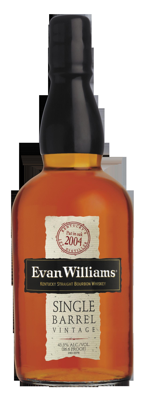 Evan Williams Single Barrel Bourbon 2004 Vintage