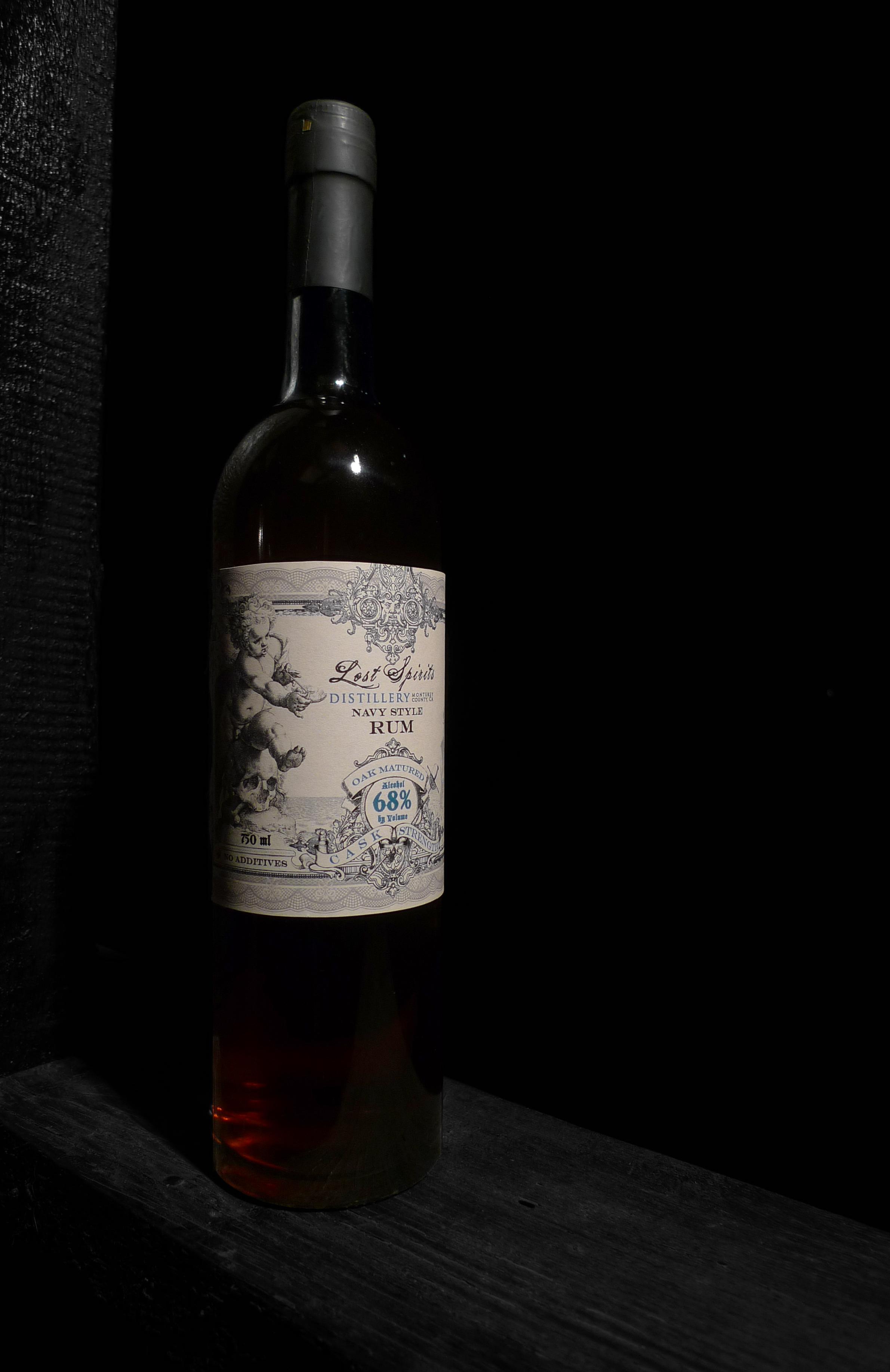 Lost Spirits Distillery Navy Style Rum (2014)