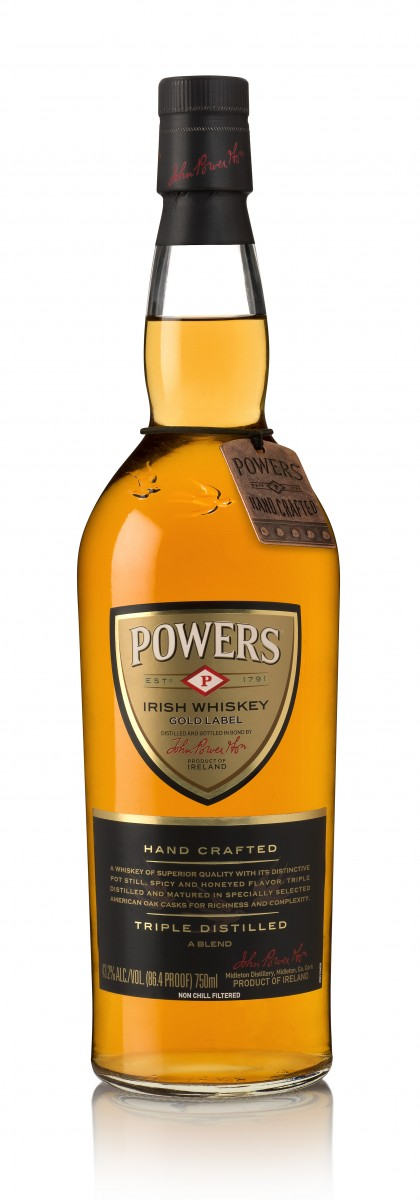 Powers Gold Label Bottle
