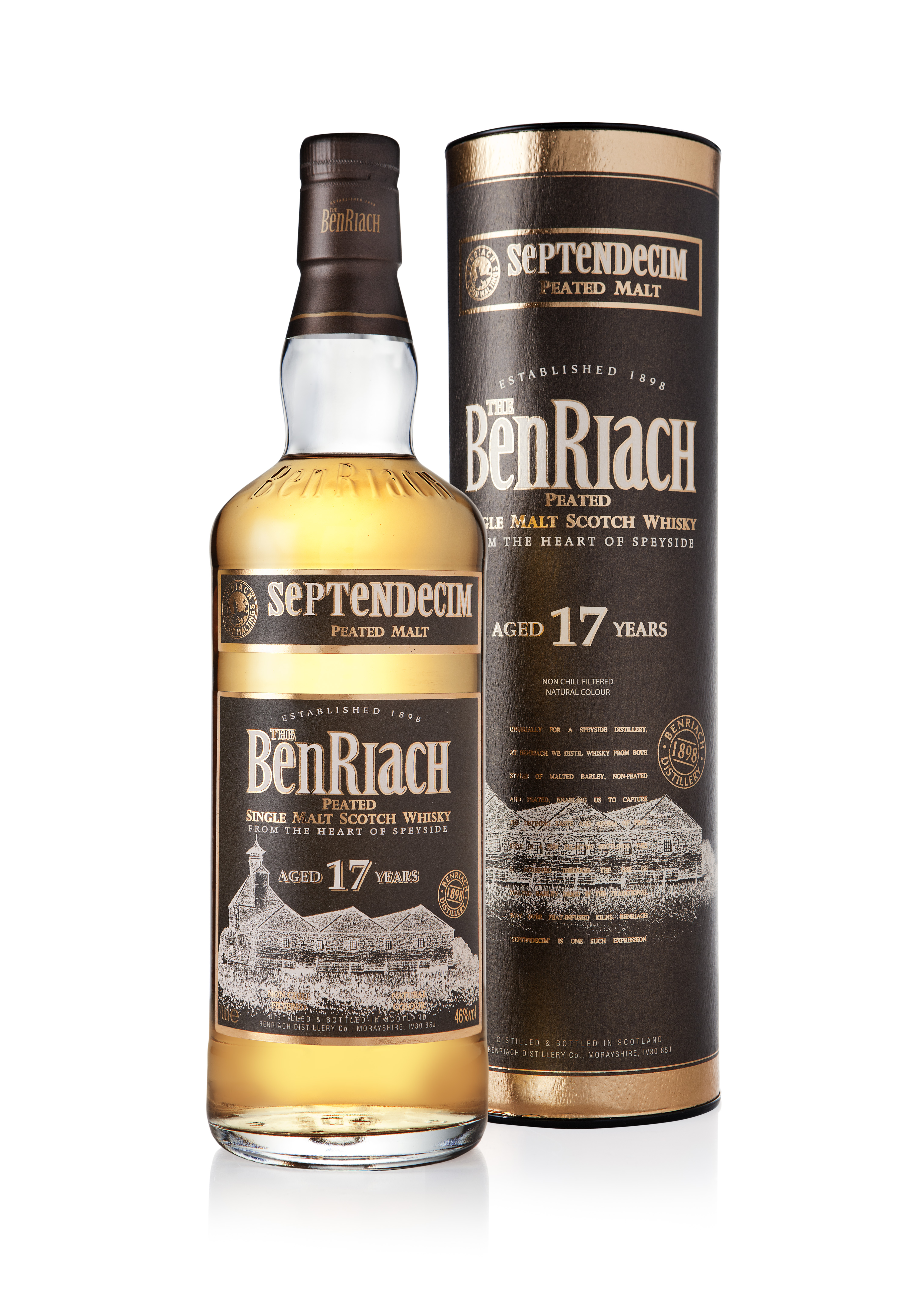 BenRiach Authenticus Peated 25 Years Old