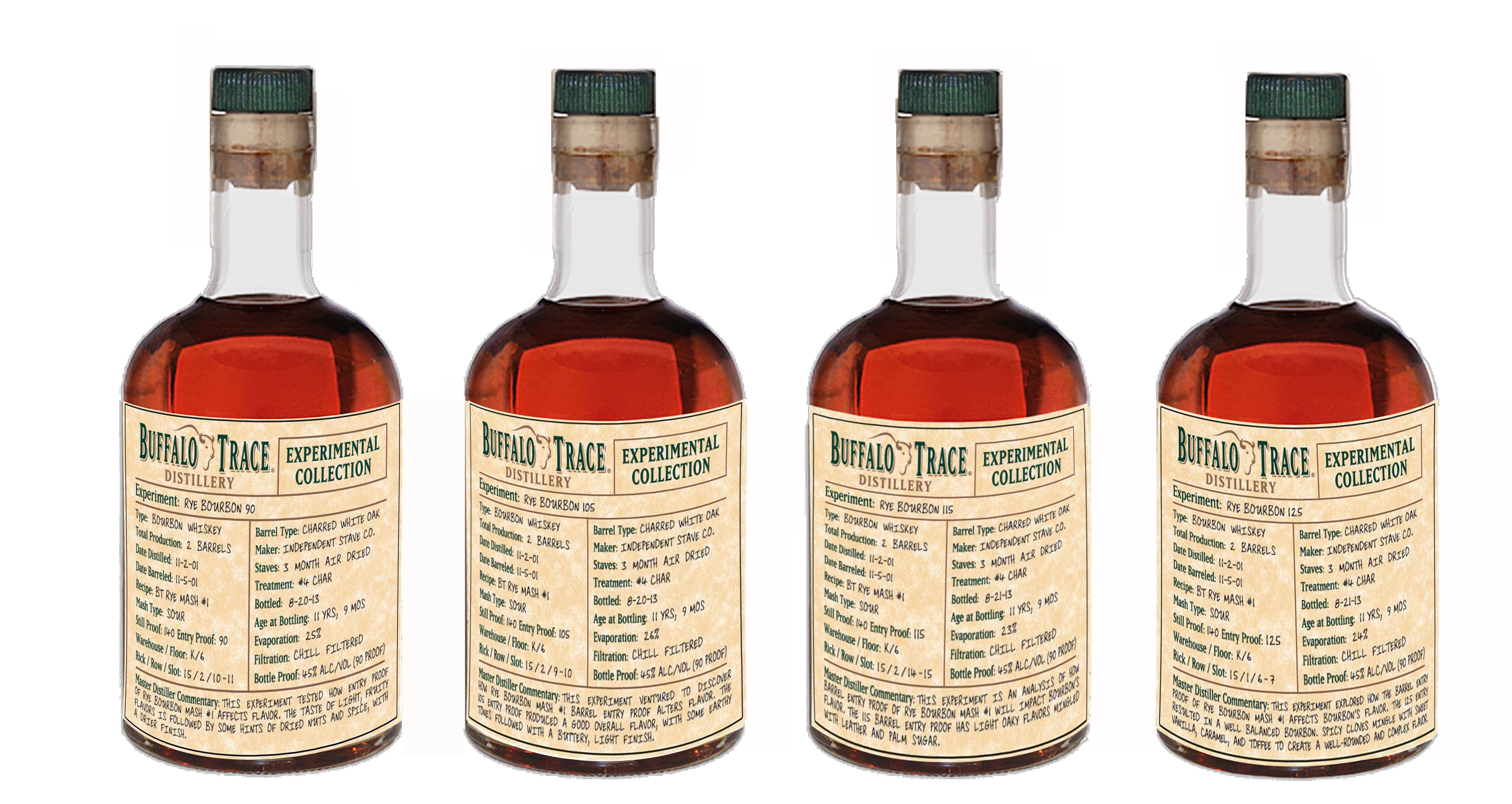 Buffalo Trace Experimental Collection - Rye Bourbon 90 Entry Proof