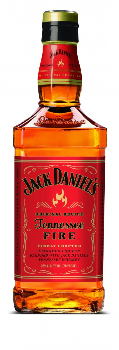 Jack Daniel's Tennessee Fire Bottle