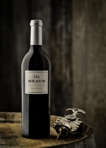 Mt. Brave Single Bottle Shot with Corkscrew