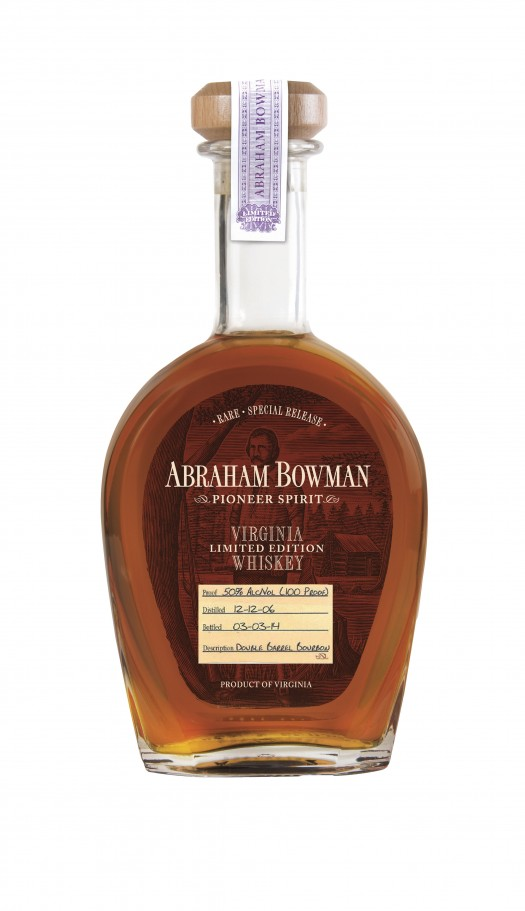 Abraham Bowman Double Barrel Bourbon March 2014