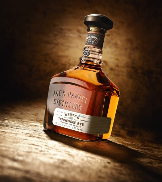 Jack Daniel's Rested Rye - bottle shot