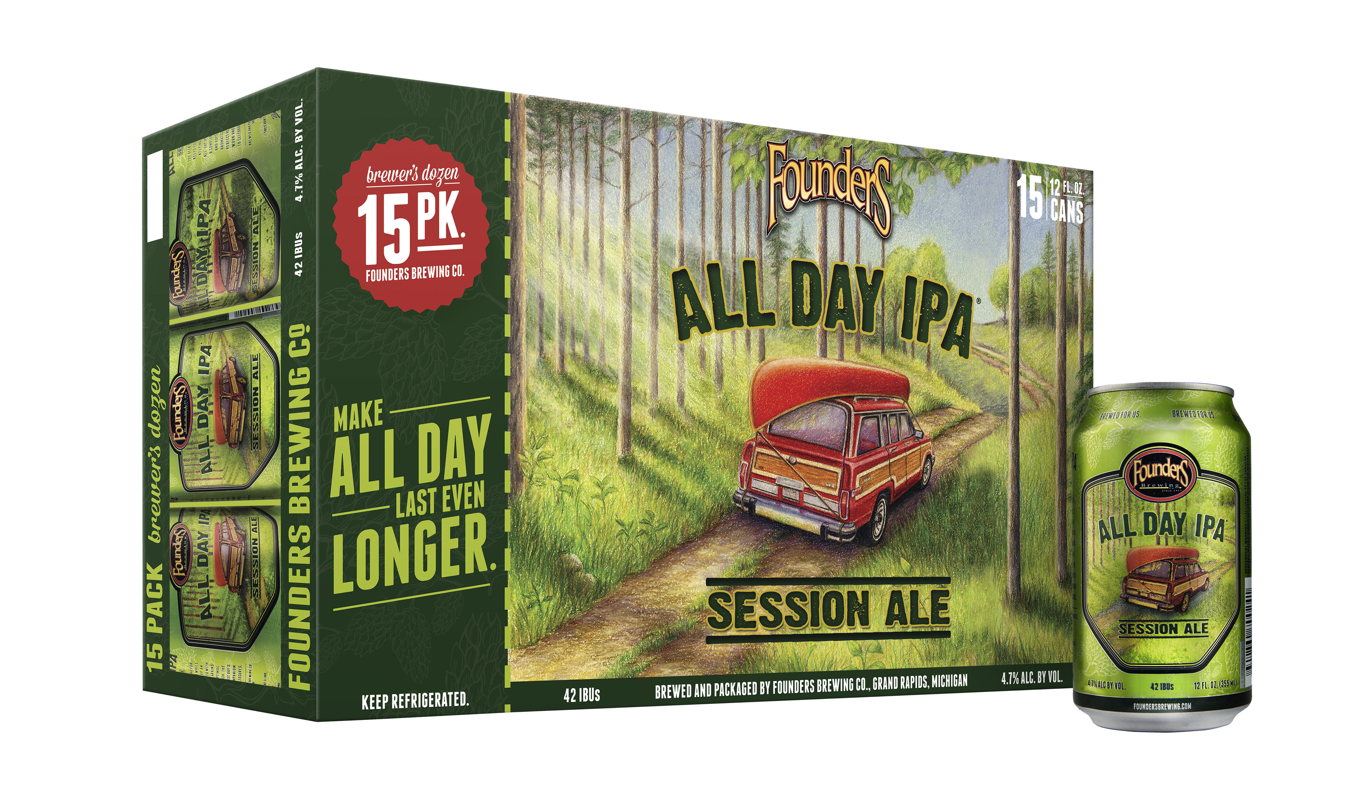 Review Founders Brewing All Day Ipa Session Ale Drinkhacker