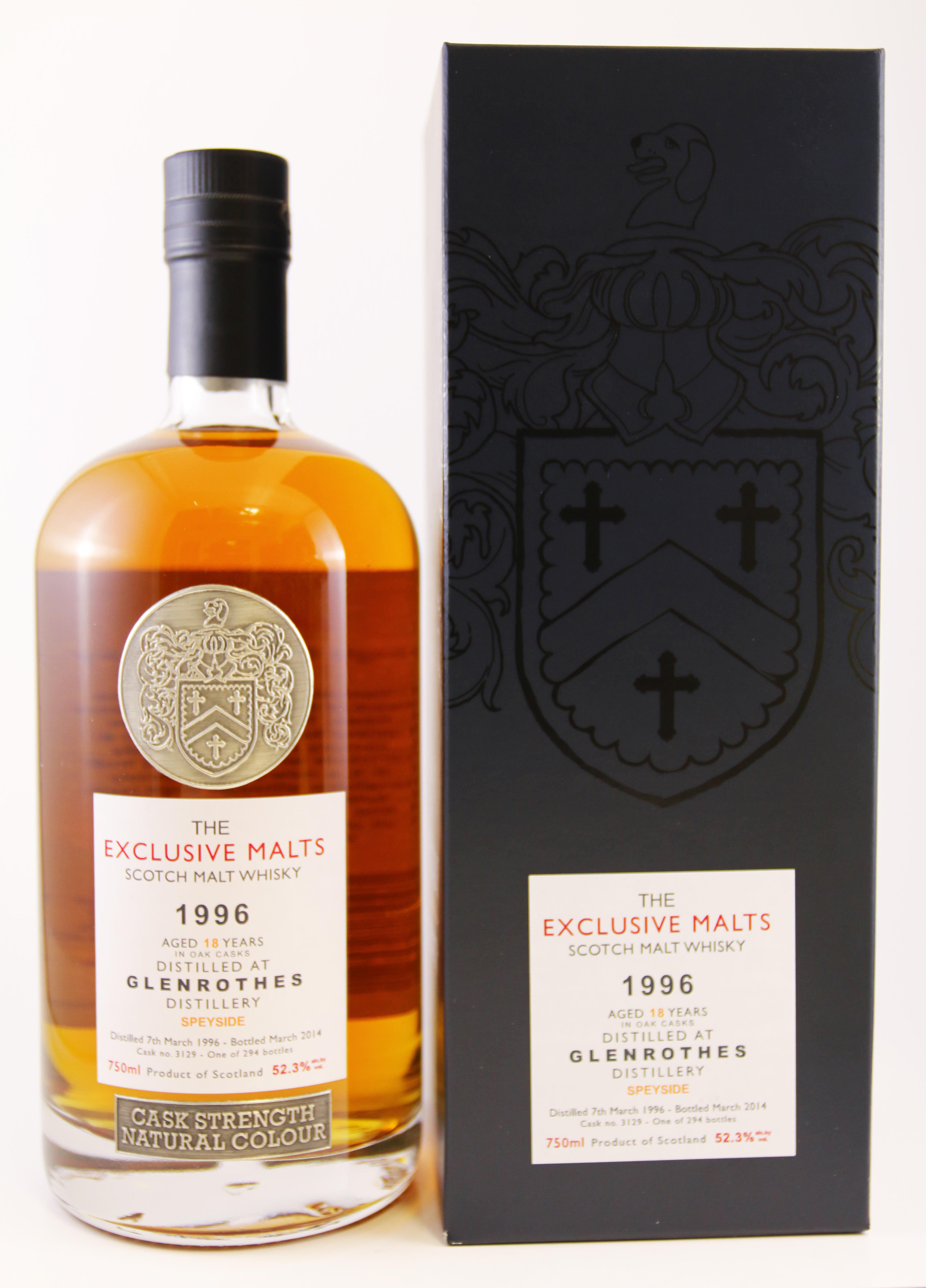 The Exclusive Malts Glenrothes 1996 18 Years Old