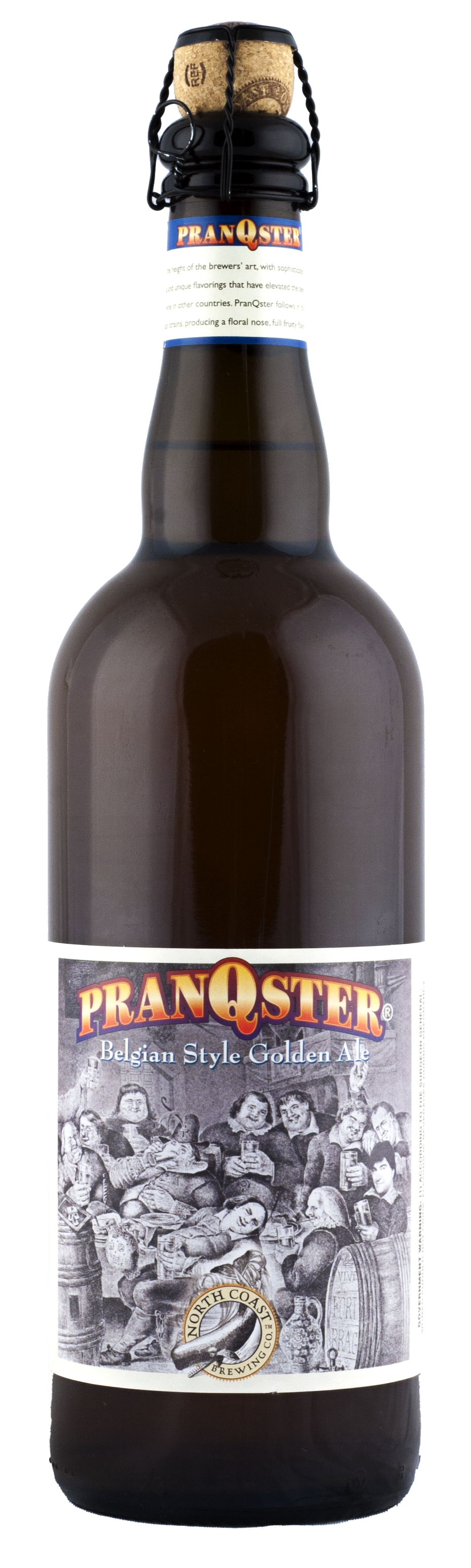 North Coast Pranqster Belgian Style Golden Ale