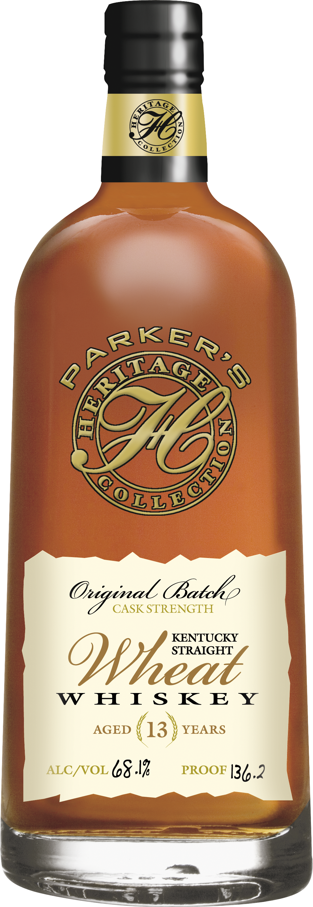 Parker's Heritage Collection Original Batch Wheat Whiskey 13 Years Old (2014)