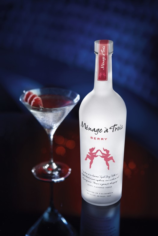 Menage a Trois Vodka Berry Martini HI Res Glamour Photo (1)