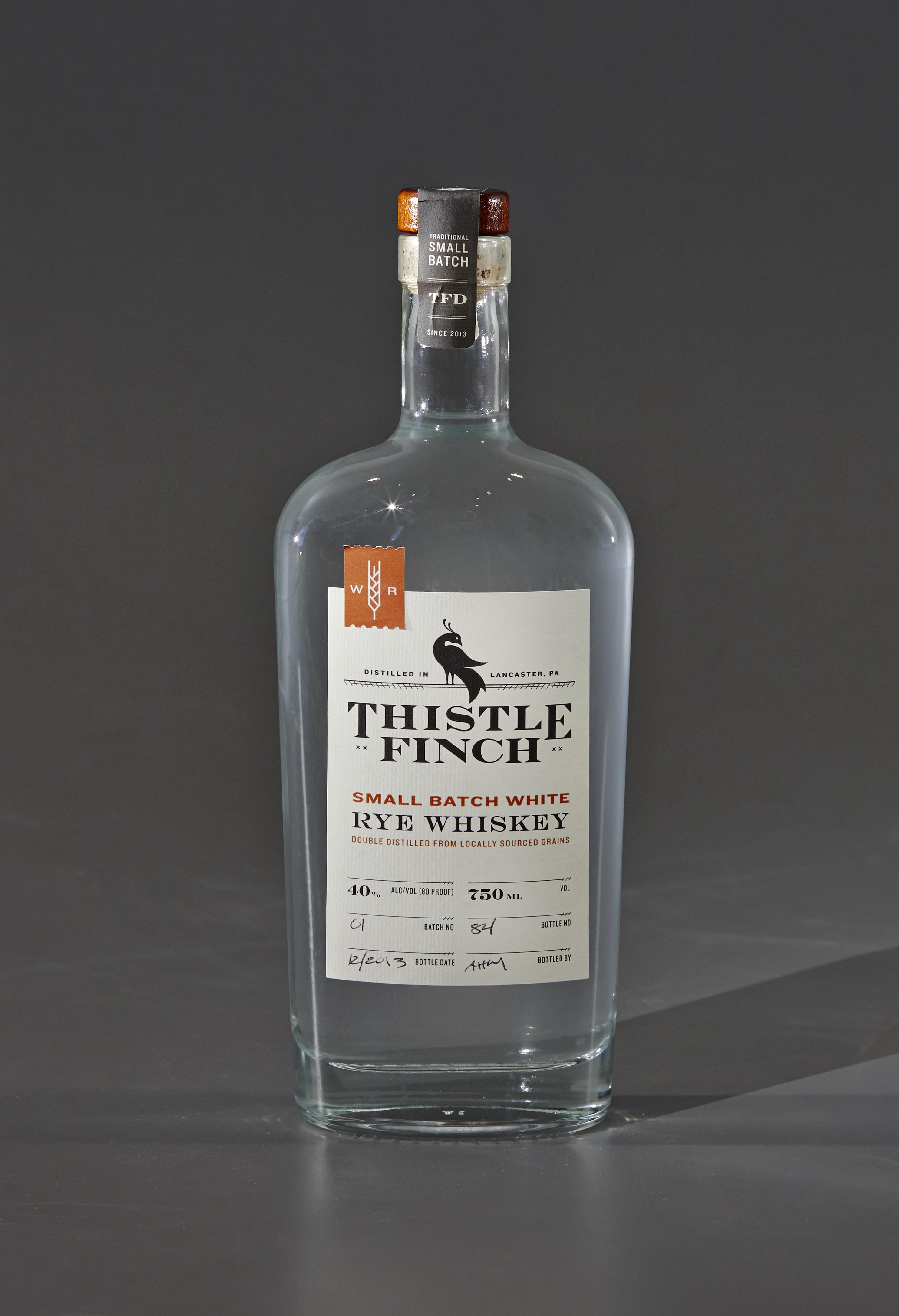 Thistle Finch Small Batch White Rye Whiskey