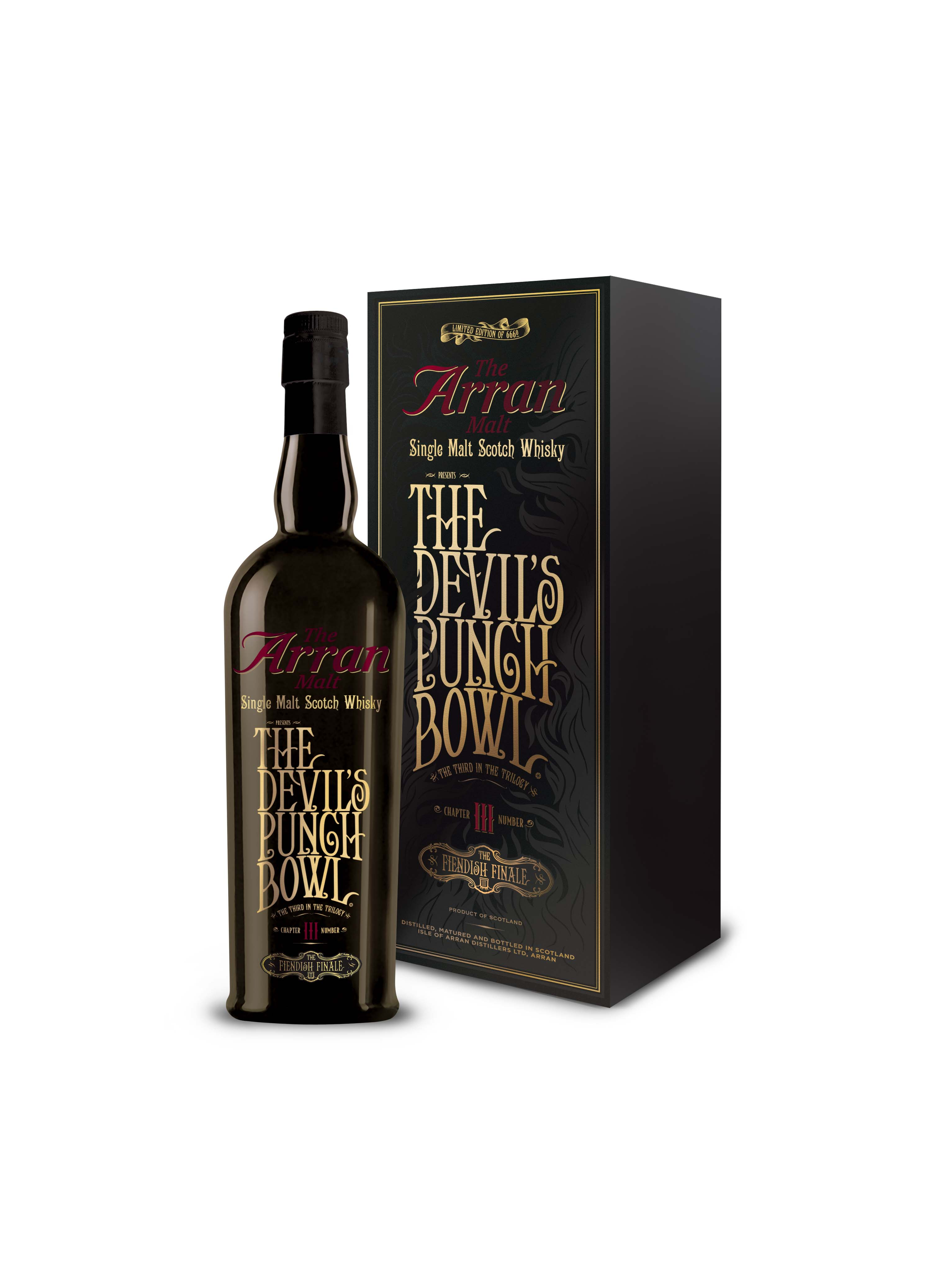 "The Arran Malt Devil's Punch Bowl Chapter III – ""The Fiendish Finale"""