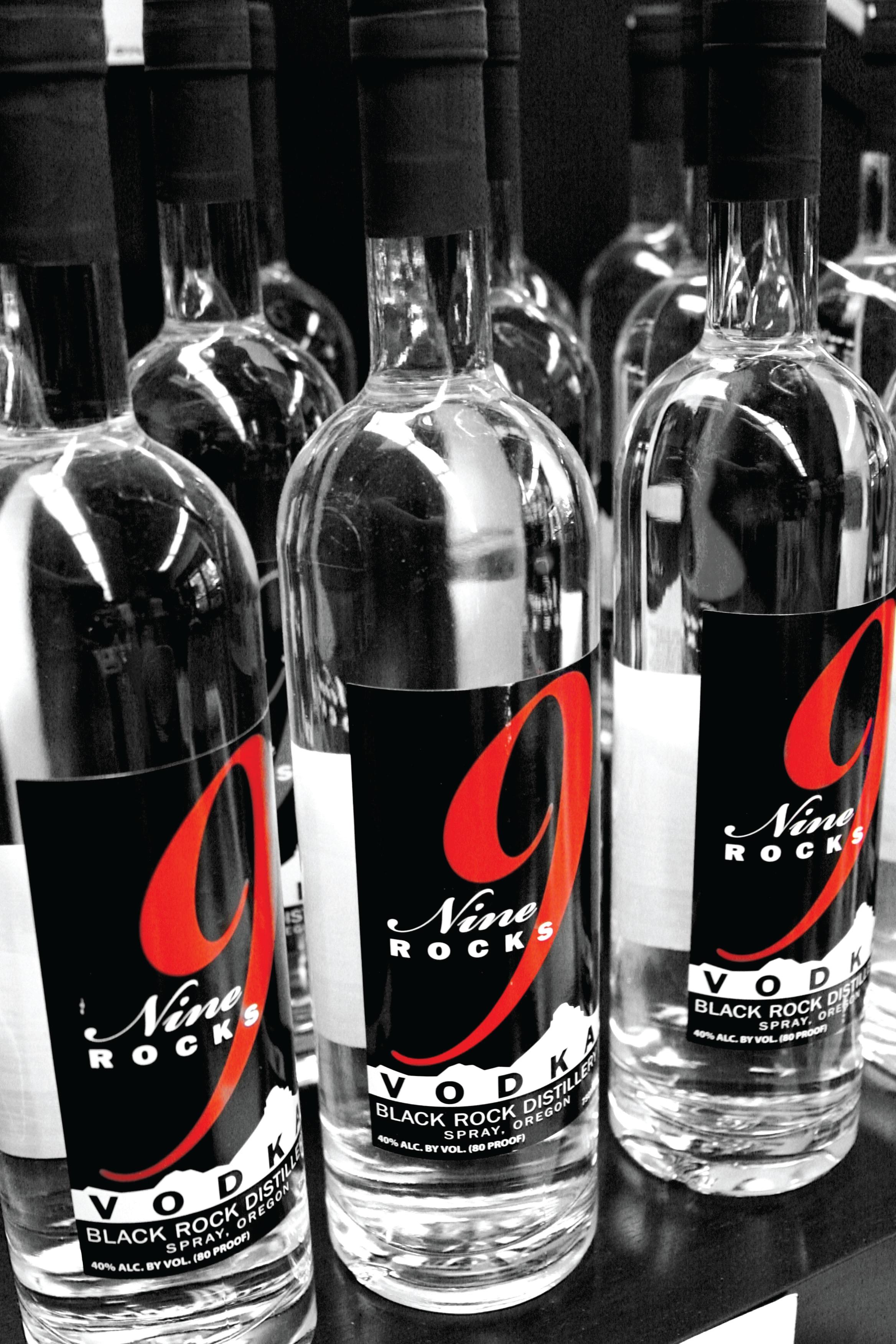 9 Rocks Vodka