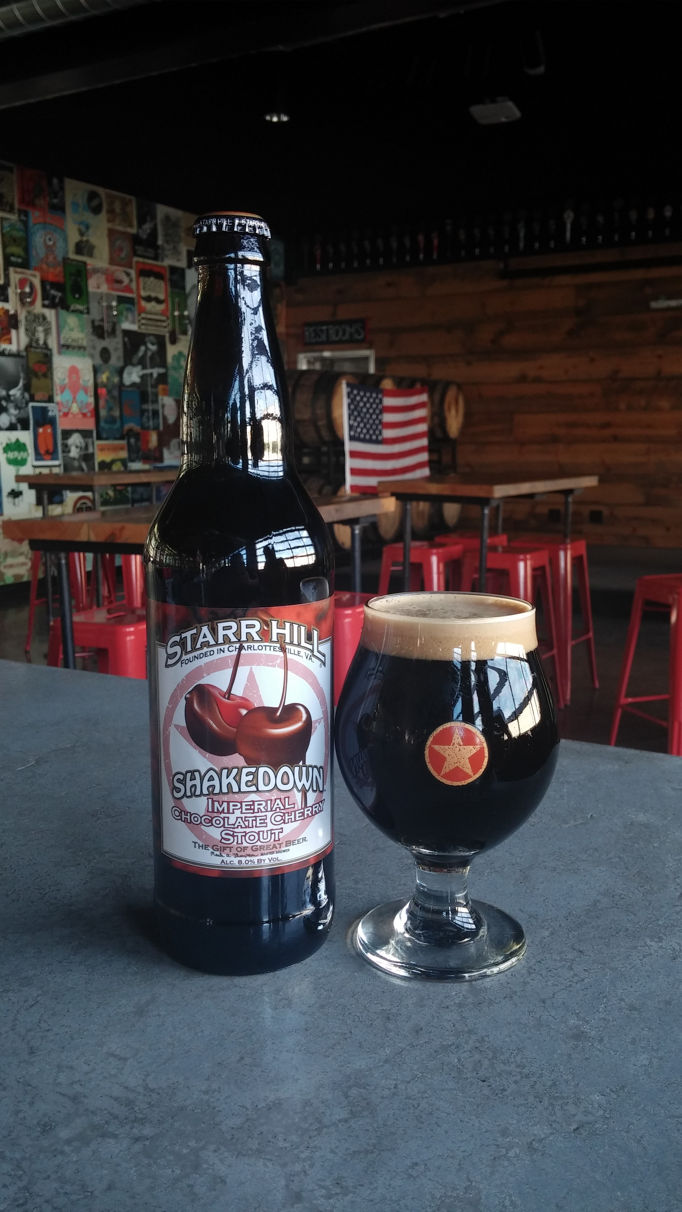 Starr Hill Shakedown Imperial Chocolate Cherry Stout