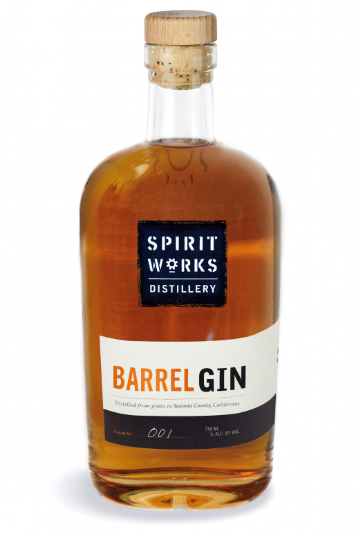 spirit works aged gin