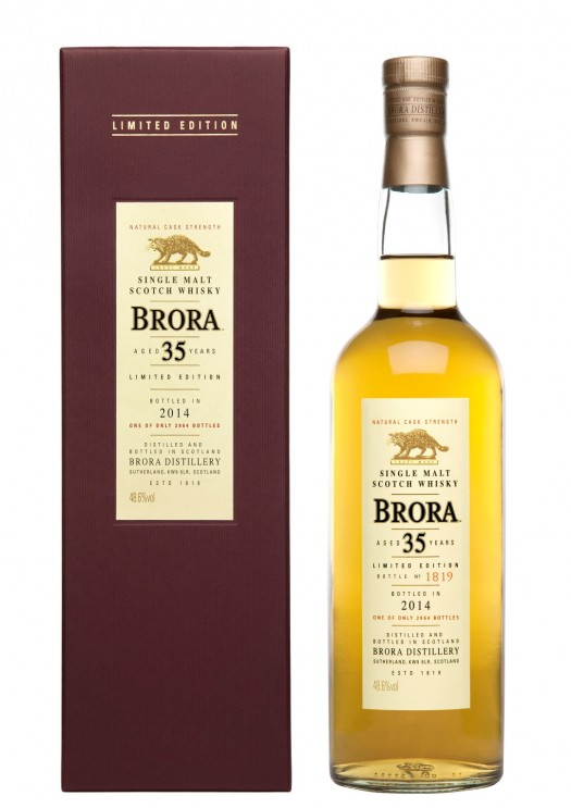 Brora 35YO Bottles & Box