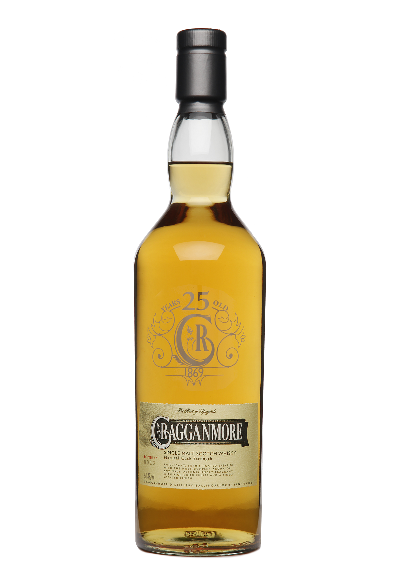 Cragganmore 25 Years Old Limited Edition 2014