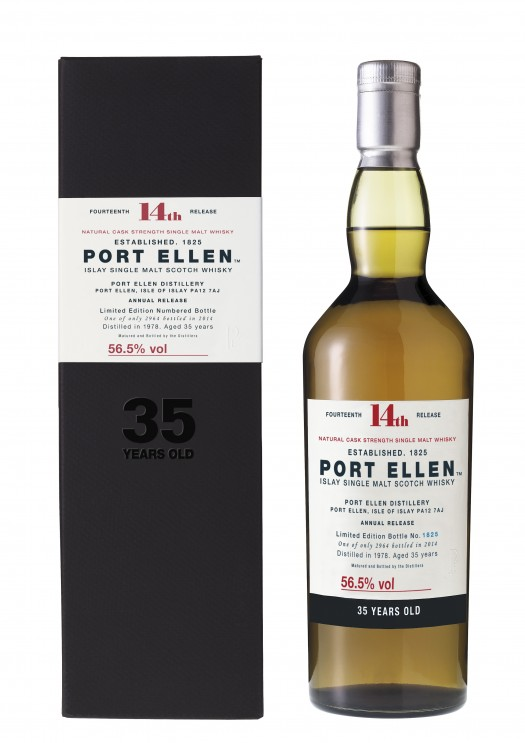 Port Ellen 35YO Bottle & Box