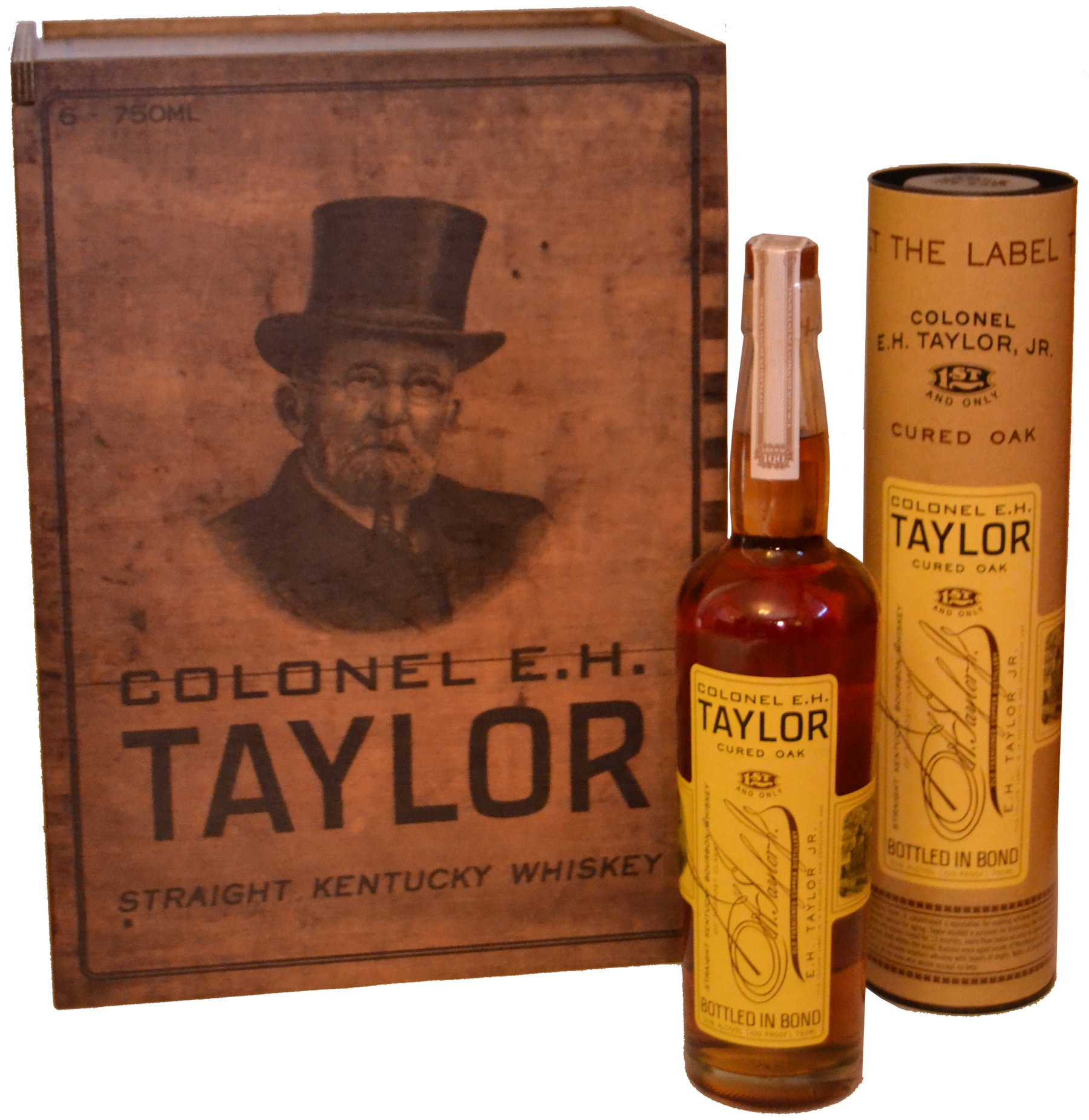Col. E.H. Taylor Cured Oak Bourbon