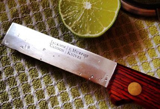 Bar Knife w. Lime Credit Heath Davis of Bacardi