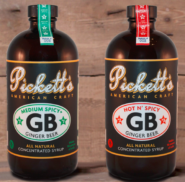 Pickett's Medium Spicy+ Ginger Beer Syrup