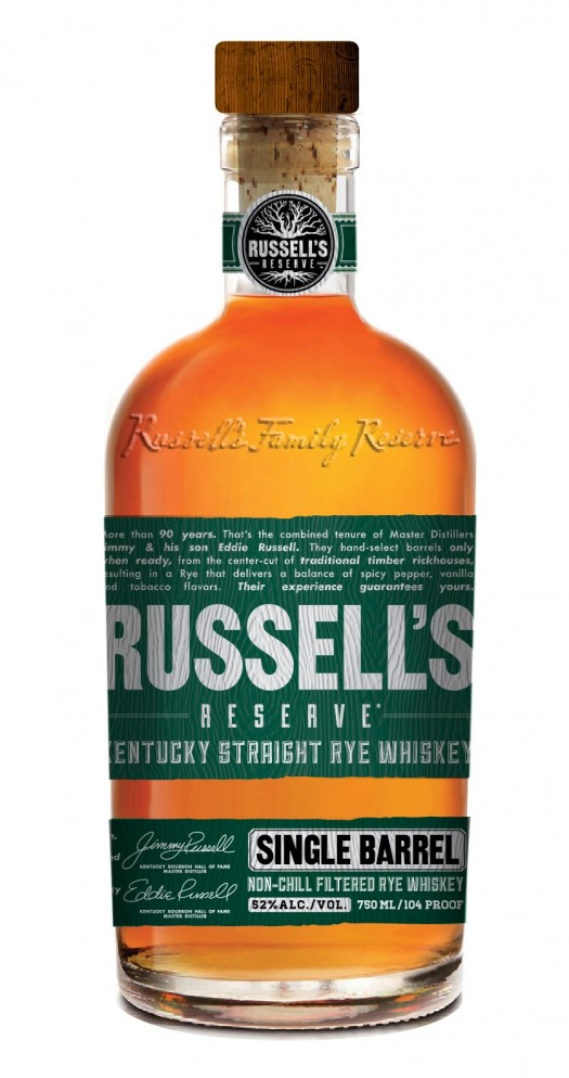 RR_Single Barrel Rye_Bottle Shot