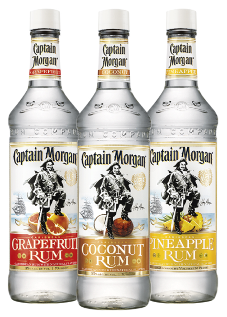 captain morgan flavors
