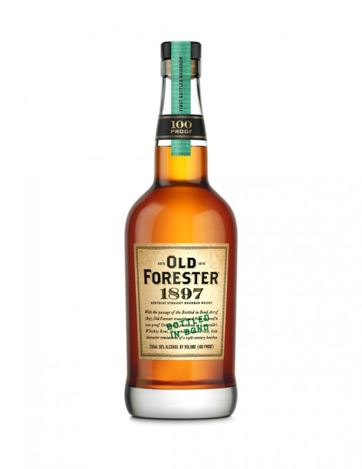 Old Forester 1897 Bottle Shot