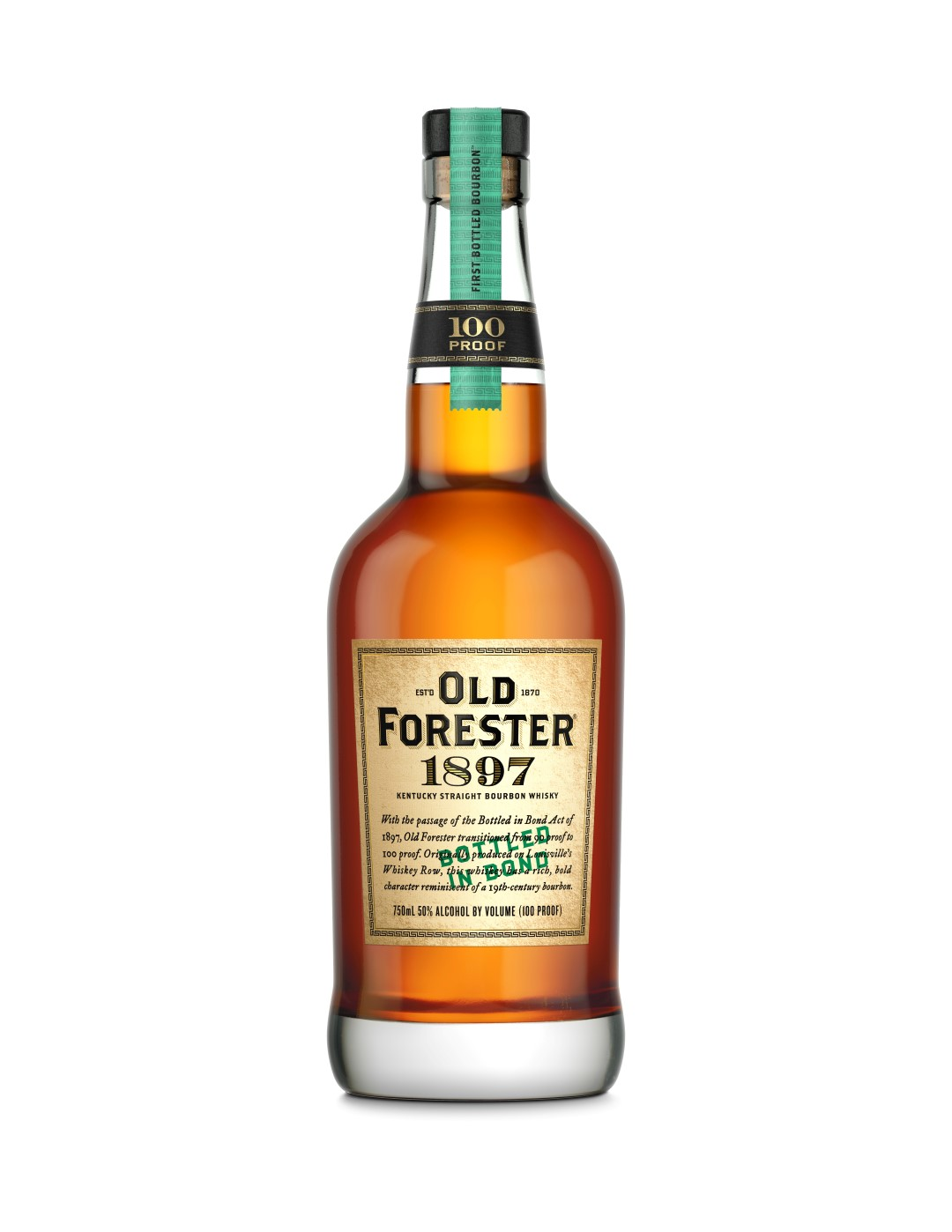 Old Forester Whiskey Row Series – 1897 Bottled in Bond Bourbon