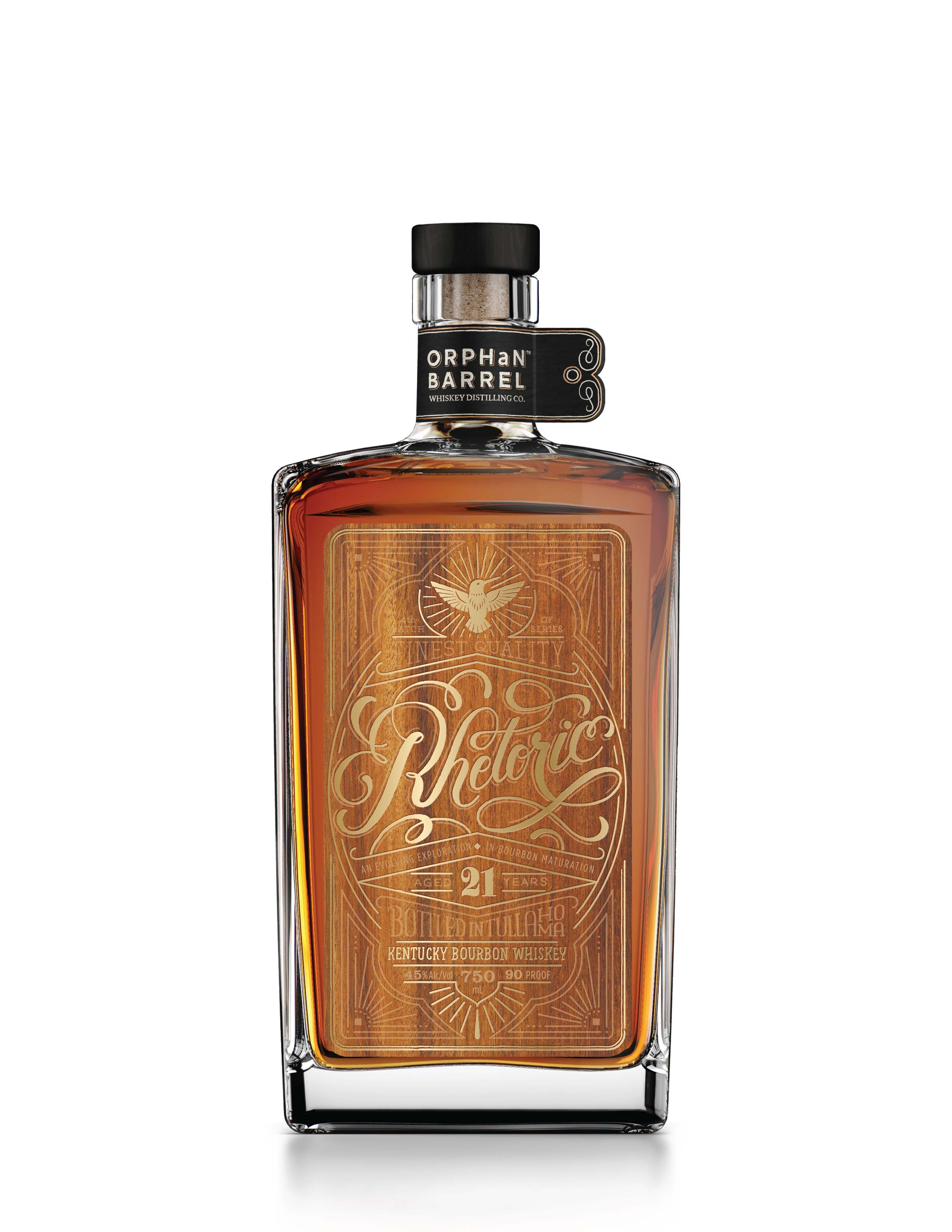Diageo Orphan Barrel Project Rhetoric Bourbon 21 Years Old