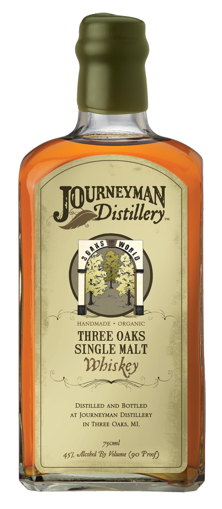 Journeyman Distillery Three Oaks Single Malt