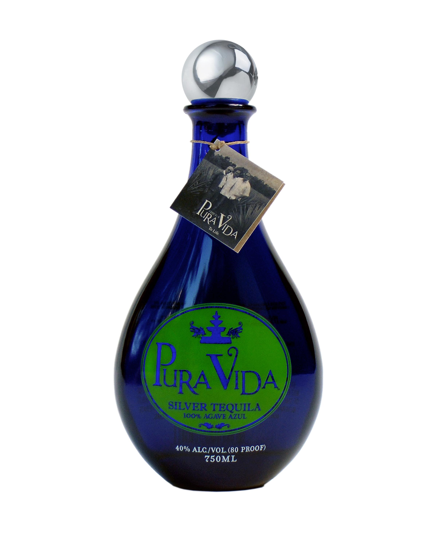 Pura Vida Silver Tequila