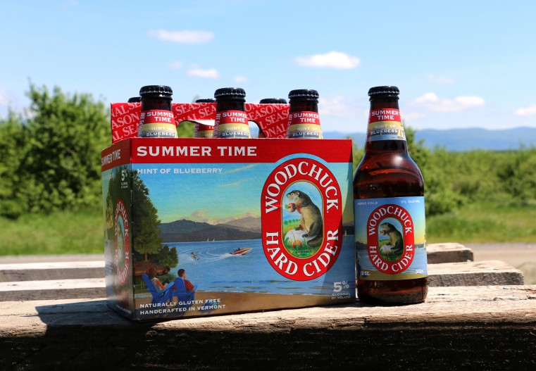 Woodchuck Summer Time Hint of Blueberry Hard Cider