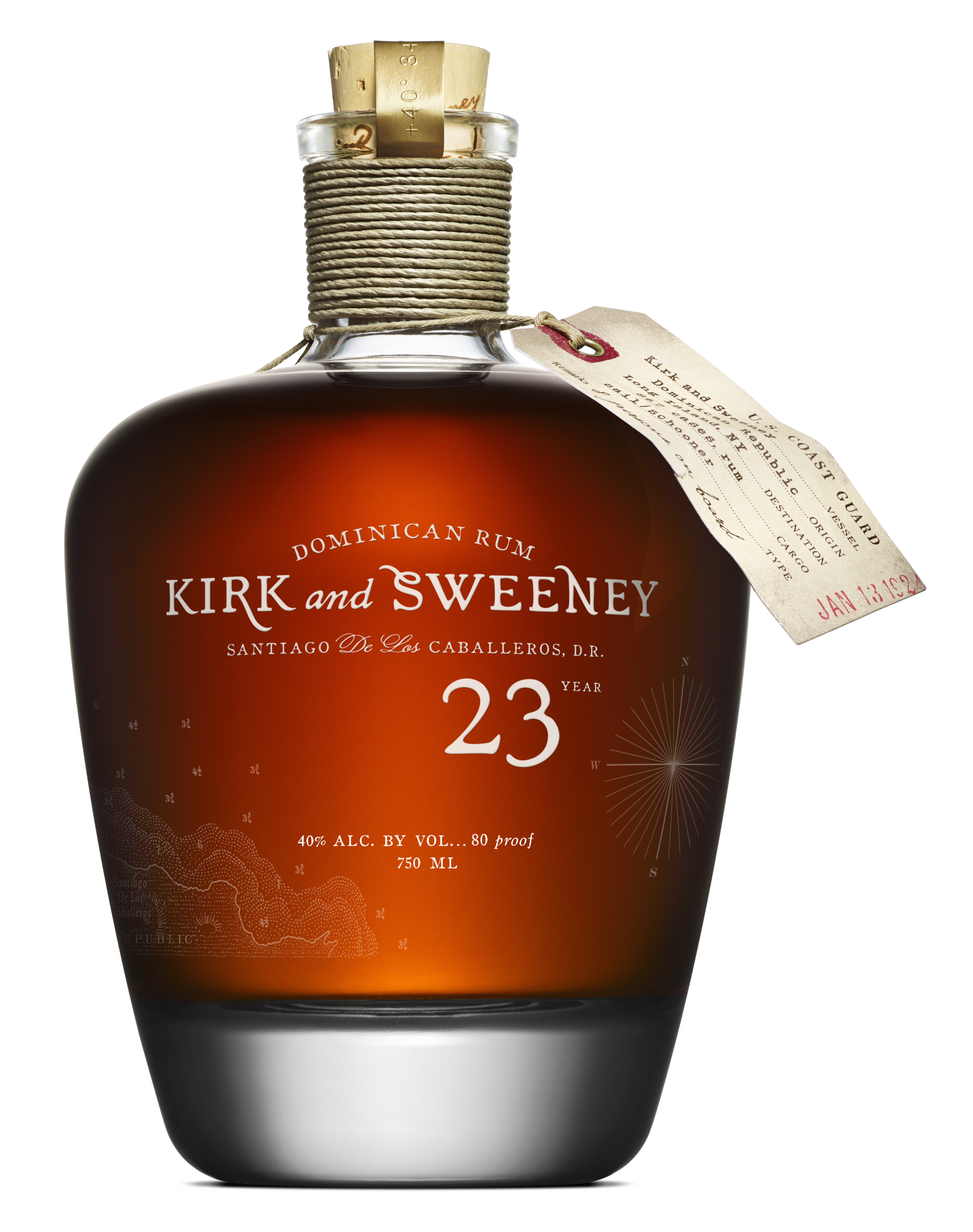 Kirk and Sweeney Dominican Rum 23 Years Old