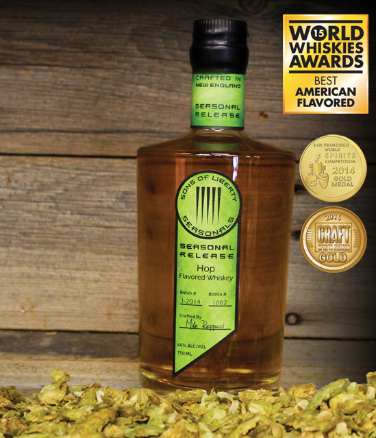Sons of Liberty Hop Flavored Whiskey