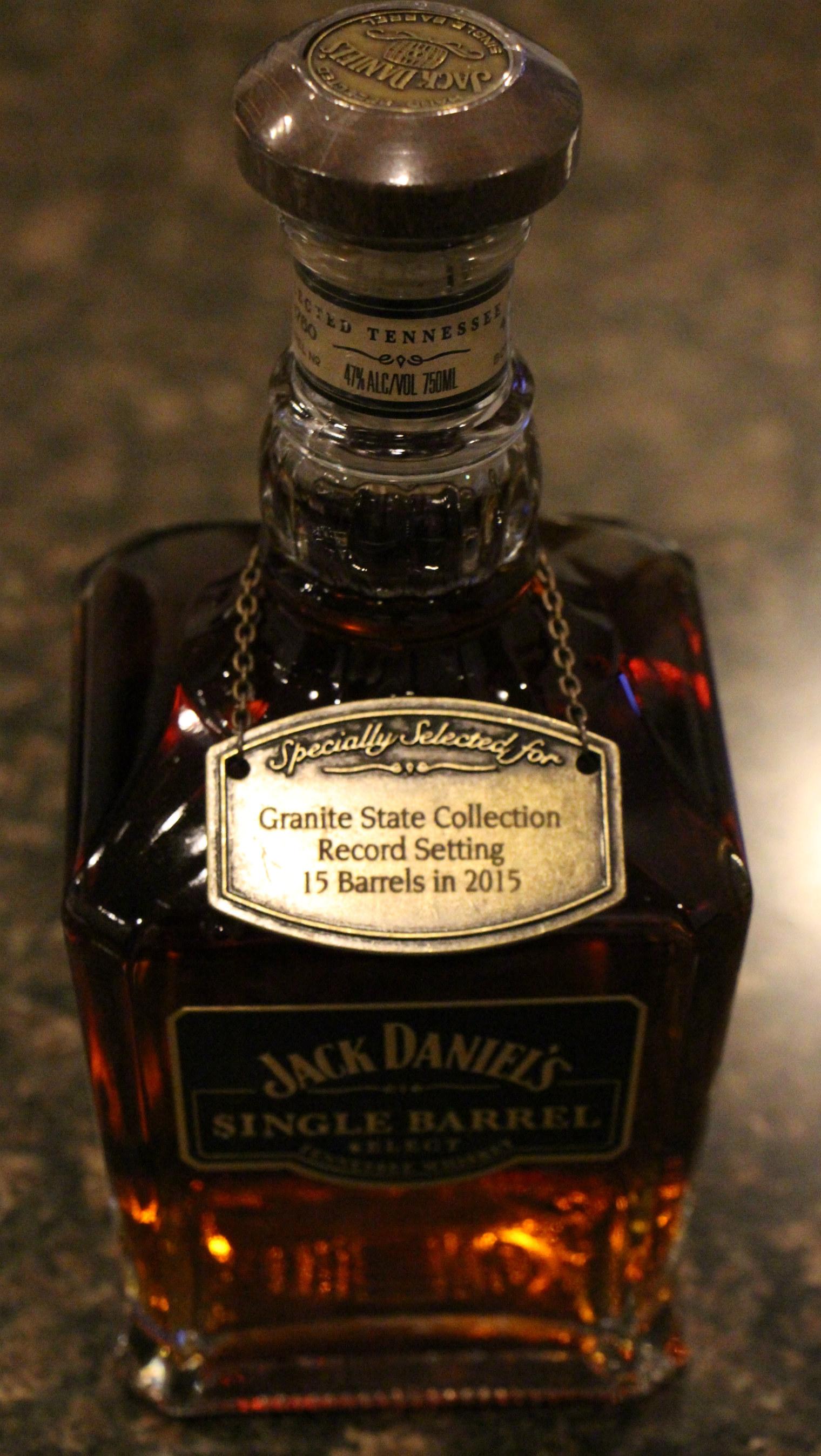 Jack Daniel's Single Barrel Select Granite State Collection Rick R-6 Barrel 15-1778