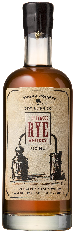 Sonoma County Distilling Co. Cherrywood Rye Whiskey (2015)