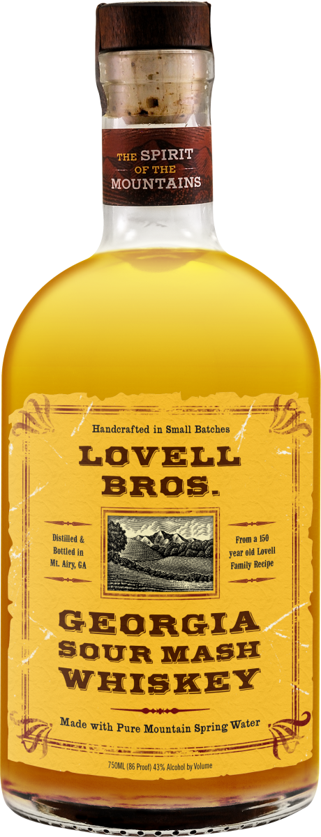 lovell bros Georgia Sour Mash Whiskey