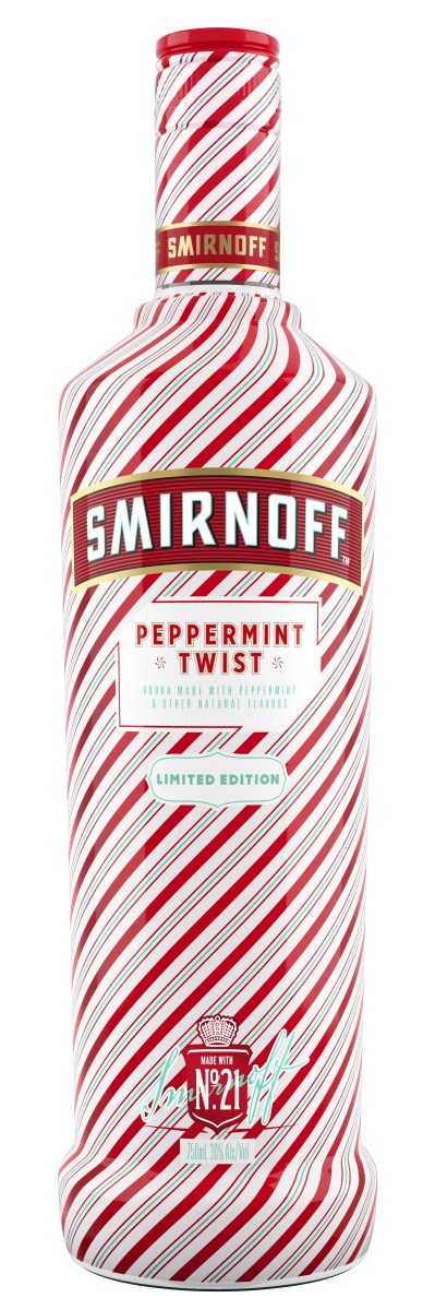 Smirnoff Peppermint Twist Bottle Shot (HIRES)