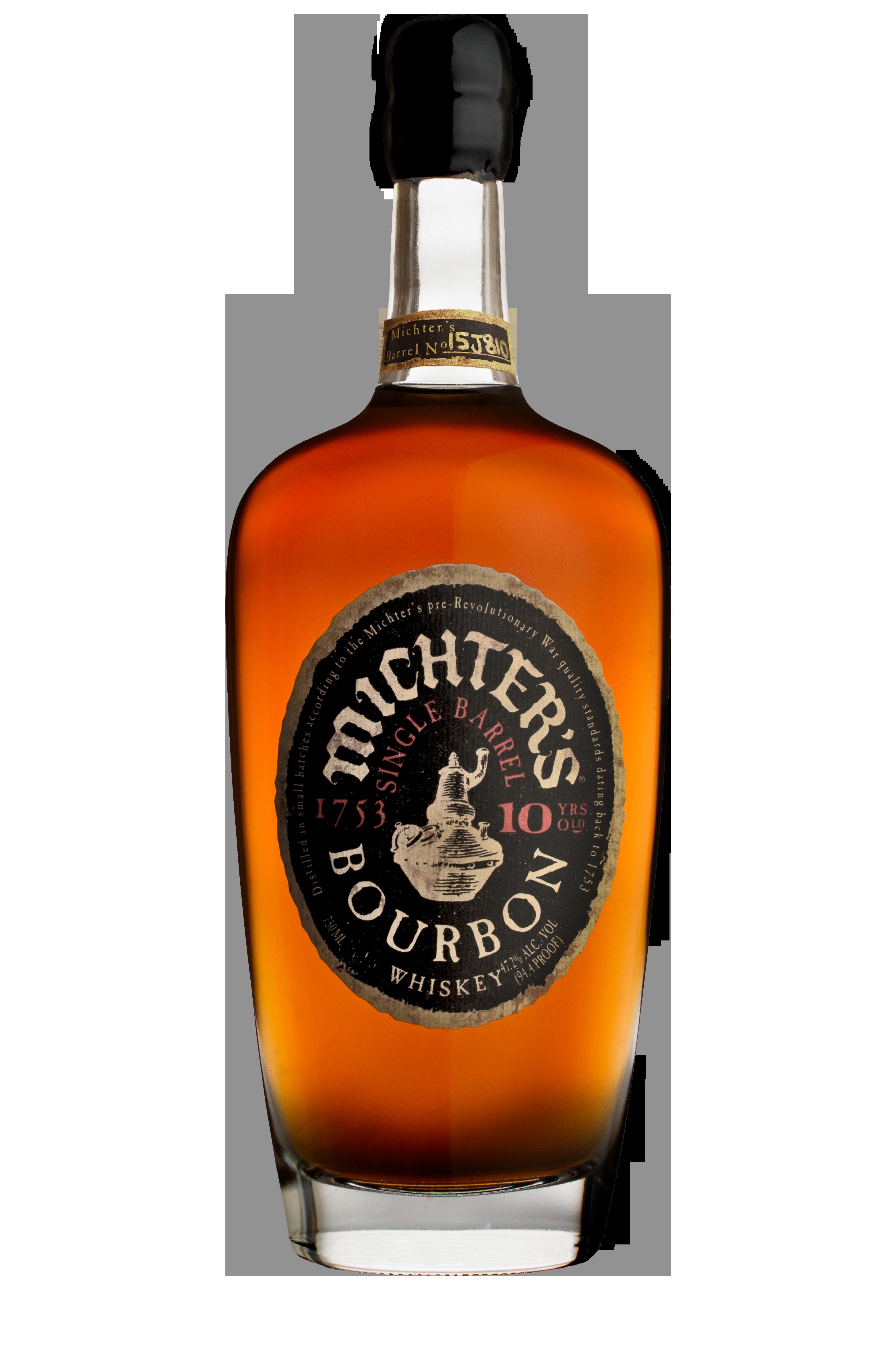 Michter's Single Barrel Bourbon 10 Years Old 2015