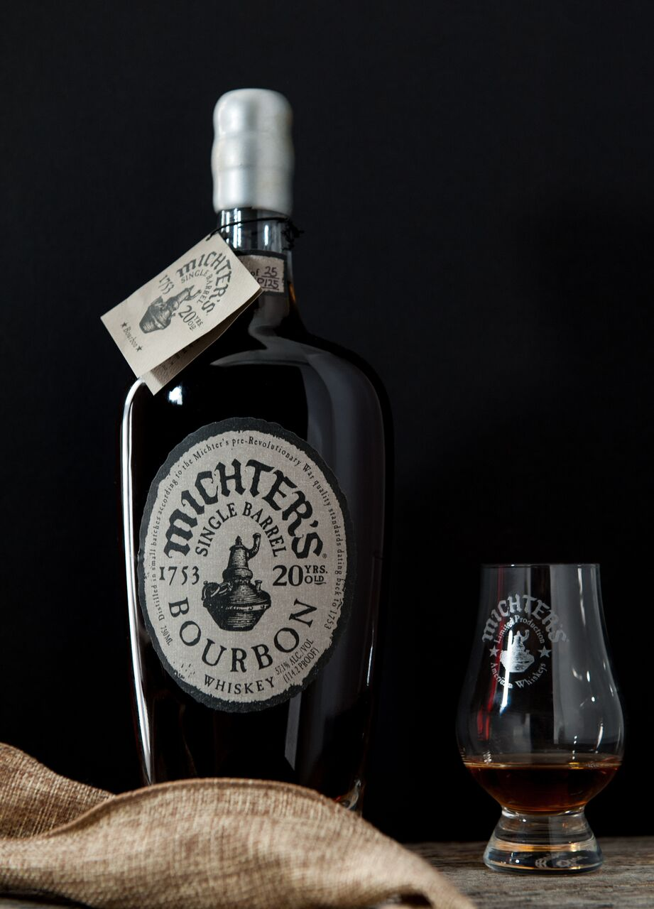 Michter's Single Barrel Bourbon 20 Years Old 2015