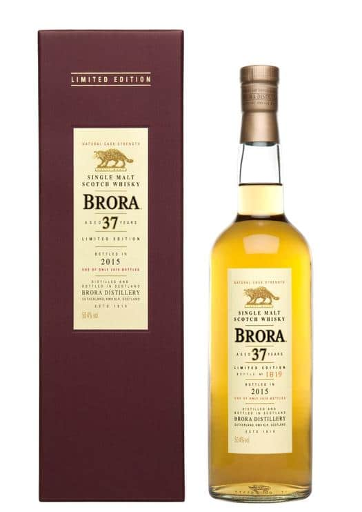 Brora 37 Years Old Limited Edition 2015