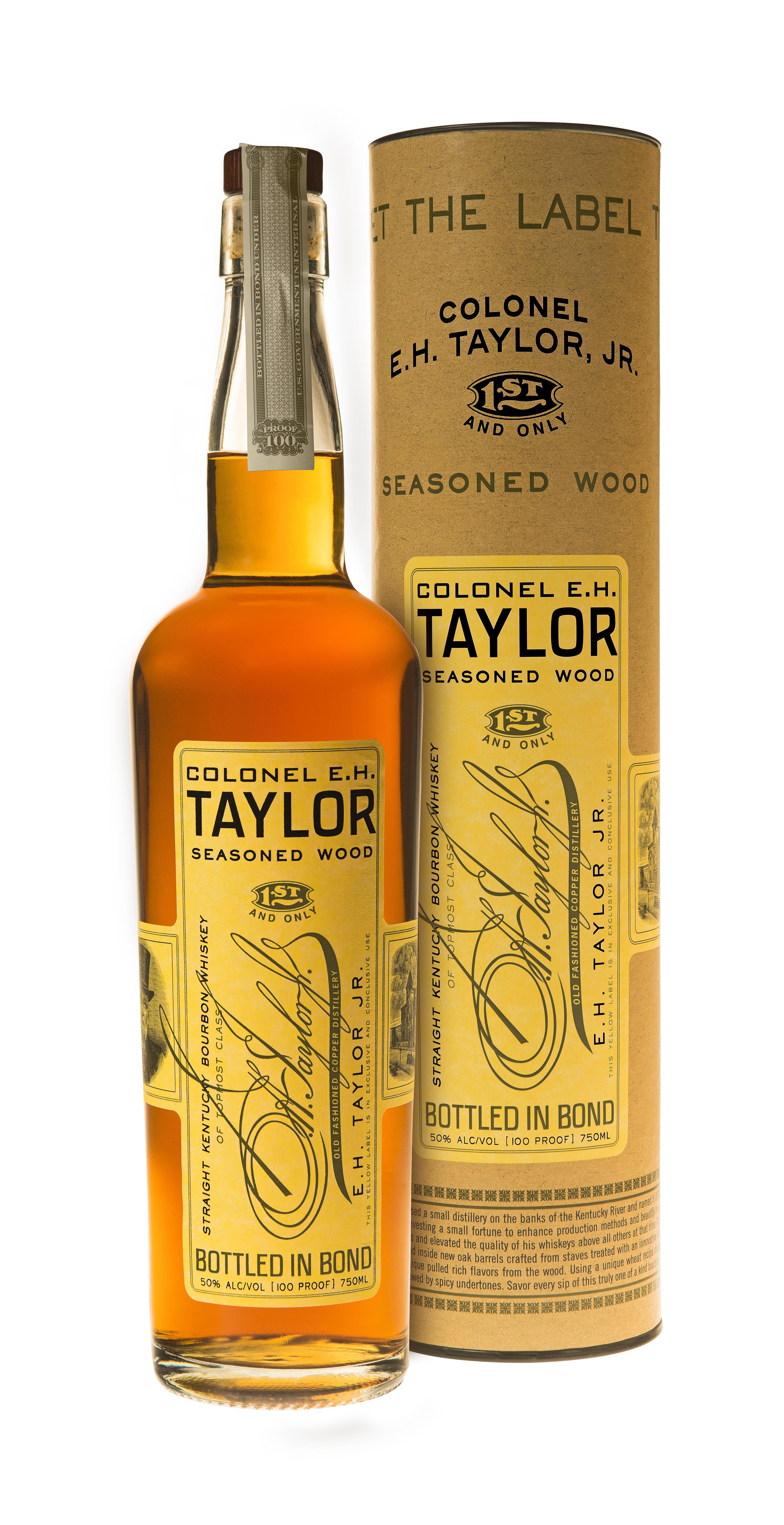 Col. E.H. Taylor Seasoned Wood Bourbon