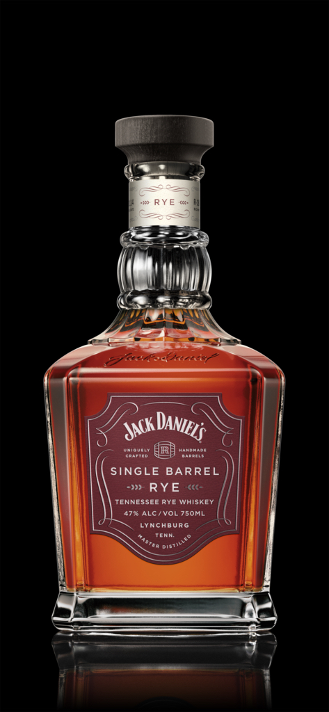 JD Single Barrel Rye Bottle
