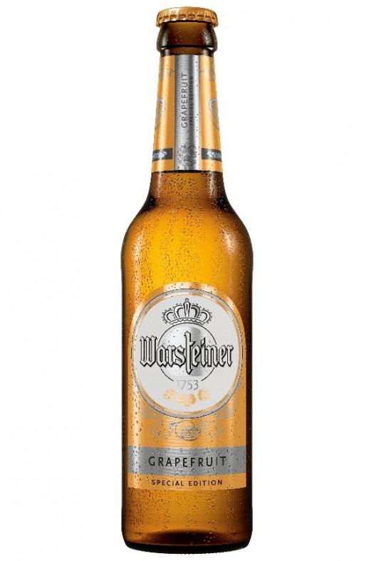 WARSTEINER Grapefruit Special Edition bottle